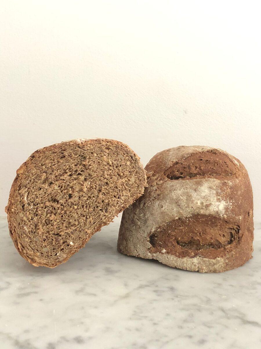 pane ai grani germinati